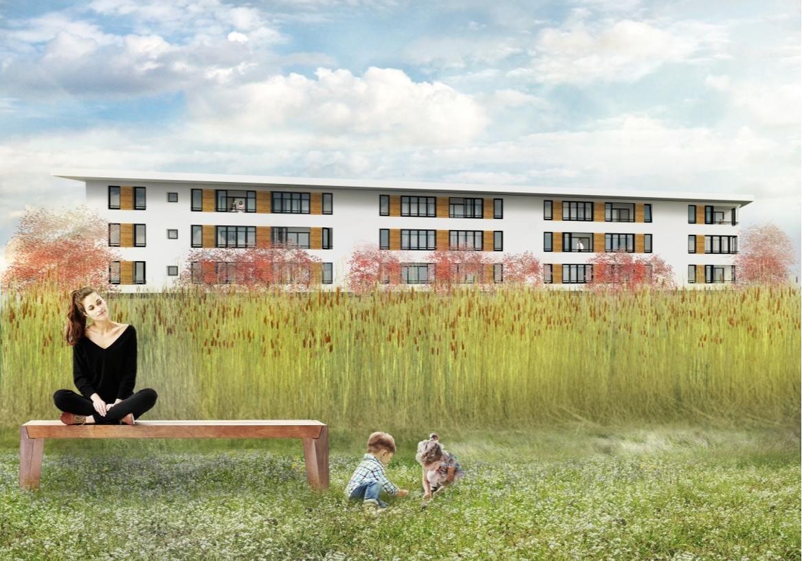 Nieuwbouw 21 appartementen te Almere