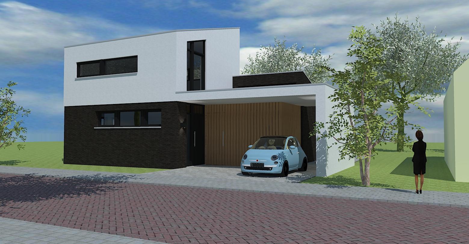Nieuwbouw woonhuis te Zaltbommel