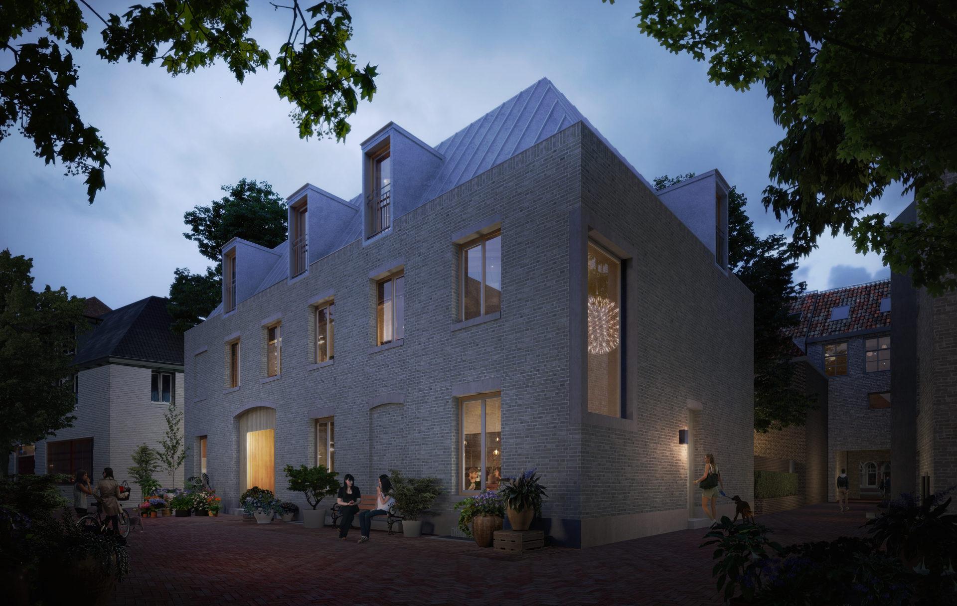 Nieuwbouw 3 Urban villa's 's-Hertogenbosch