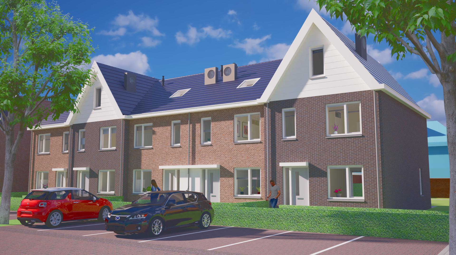 Nieuwbouw 13 woningen te Krimpen a/d Lek