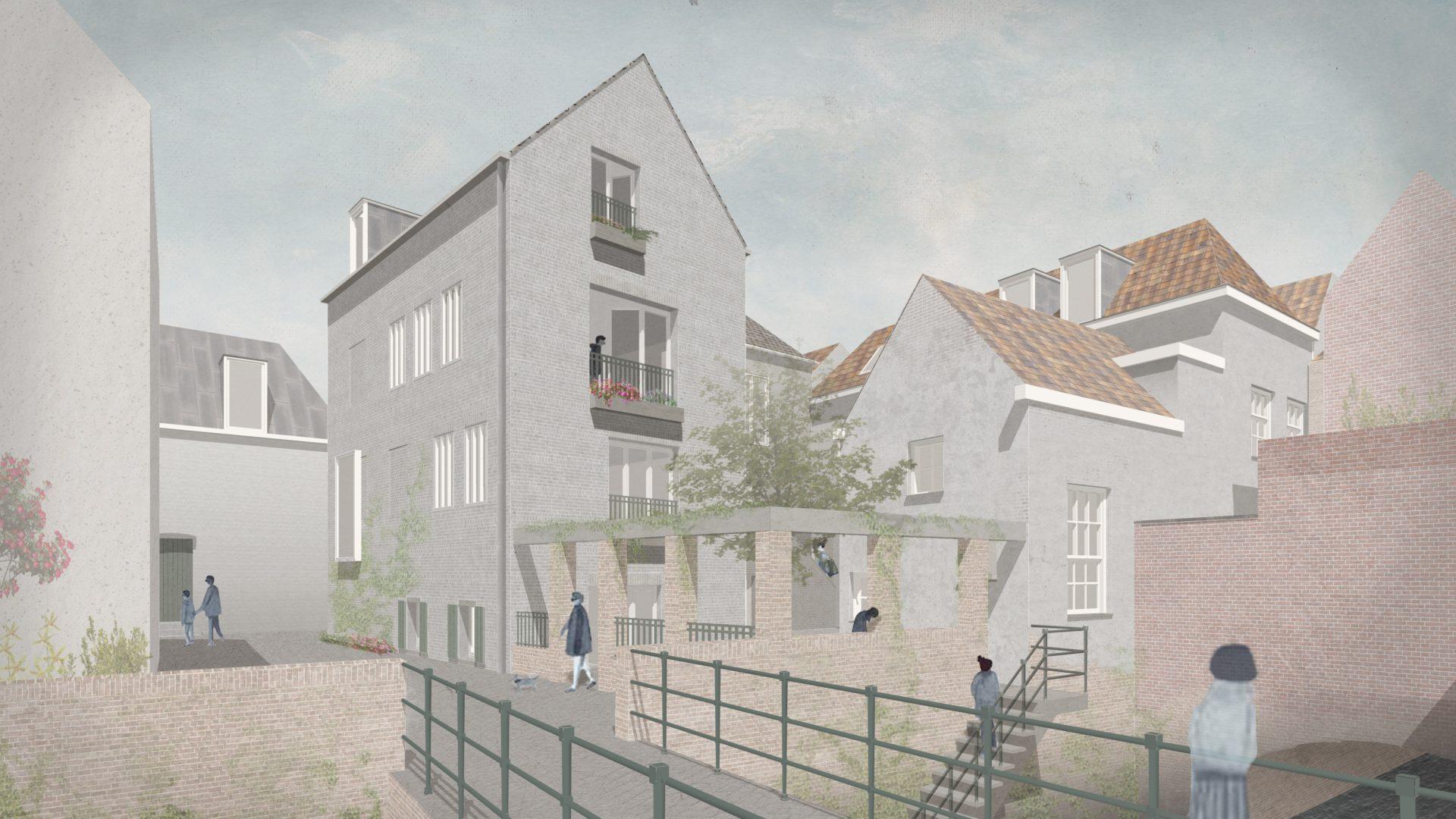 Realiseren 16 appartementen te 's-Hertogenbosch