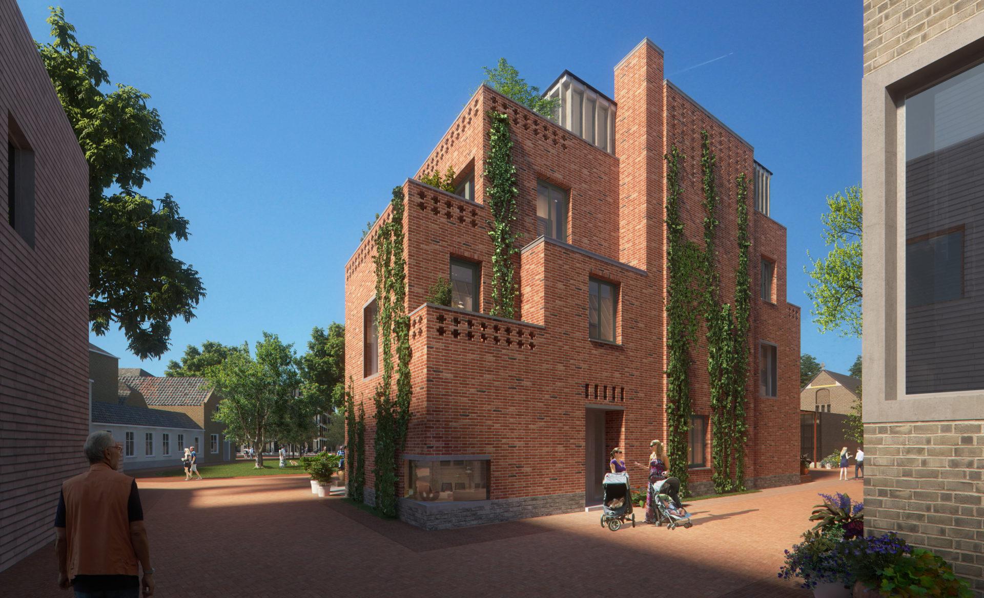Nieuwbouw 2 park villa's 's-Hertogenbosch