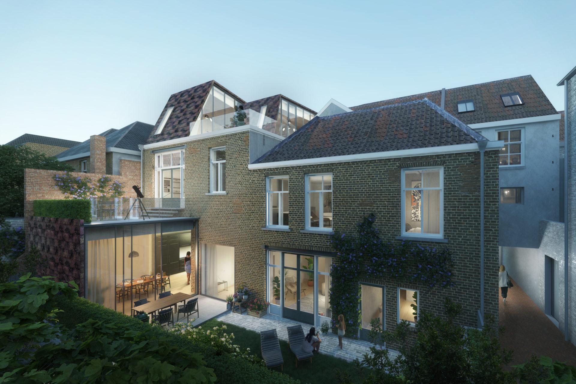 Realiseren 3 luxe appartement te 's-Hertogenbosch